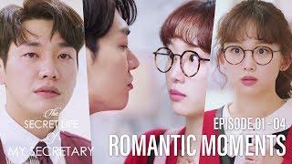 Kim Young Kwang♥Jin Ki Joo, Romantic Moments [The Secret Life of My Secretary Ep 01 ~ 04]