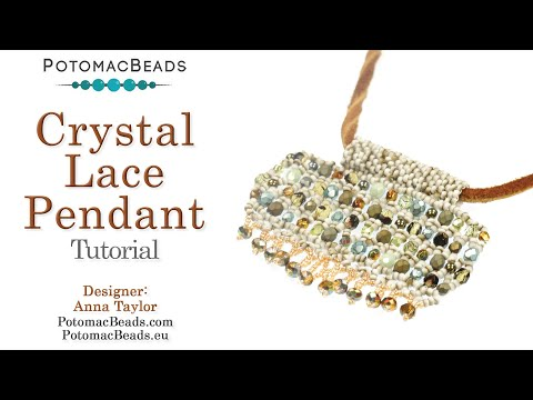Crystal Lace Pendant