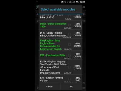 How To Download MySword Modules -Gavin Aleogho