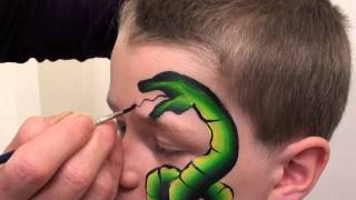 Repeat youtube video TAG Body Art Snake And Frog