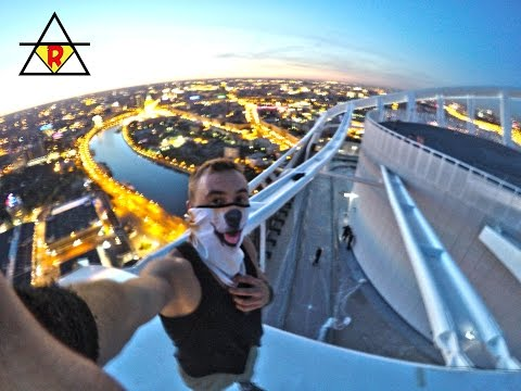 Москва Сити - Башня Эволюция / Moscow City - Evolution Tower ( Height: 246 m ) а&уеный залаз