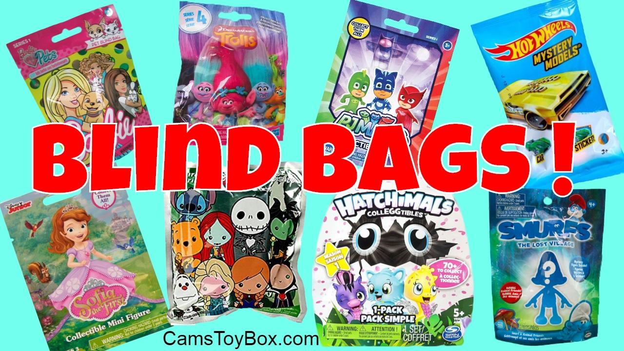 Blind Bag Surprises Smurfs Barbie Pets Hatchimals Trolls
