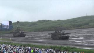 Japan Ground Self-Defense Force -FIRE POWER 2013 in FUJI- 平成25年度 富士総合火力演習(まとめ)
