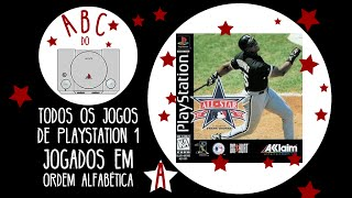 All-Star Baseball 1997 Featuring Frank Thomas - Gameplay comentado em português [ABC do PS1]