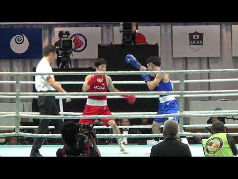 H30  全日本 決勝 L級 森坂嵐 対 藤田健児 ボクシング