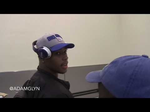 Saquon Barkley arrives in NYC as a NY Giants player