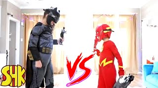 Superheroes Toys Battle: A SuperHero Kids Christmas Classic Comics Compilation