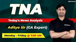 Current Affairs | Daily News - October 15 | IBPS PO | IBPS Clerk | SSC | Today's News Analysis