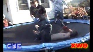 Jesse James Figure 8 Race ends in a Fist Fight