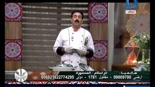 مطبخ دريم| طريقة عمل الهريسة بالوز والشاكرية باللحمة الموزة والأرز البسمتى والملوخية السورية