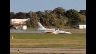 Air disaster Aero Vodochody L-39C Albatros plane crash in Bridgeport USA