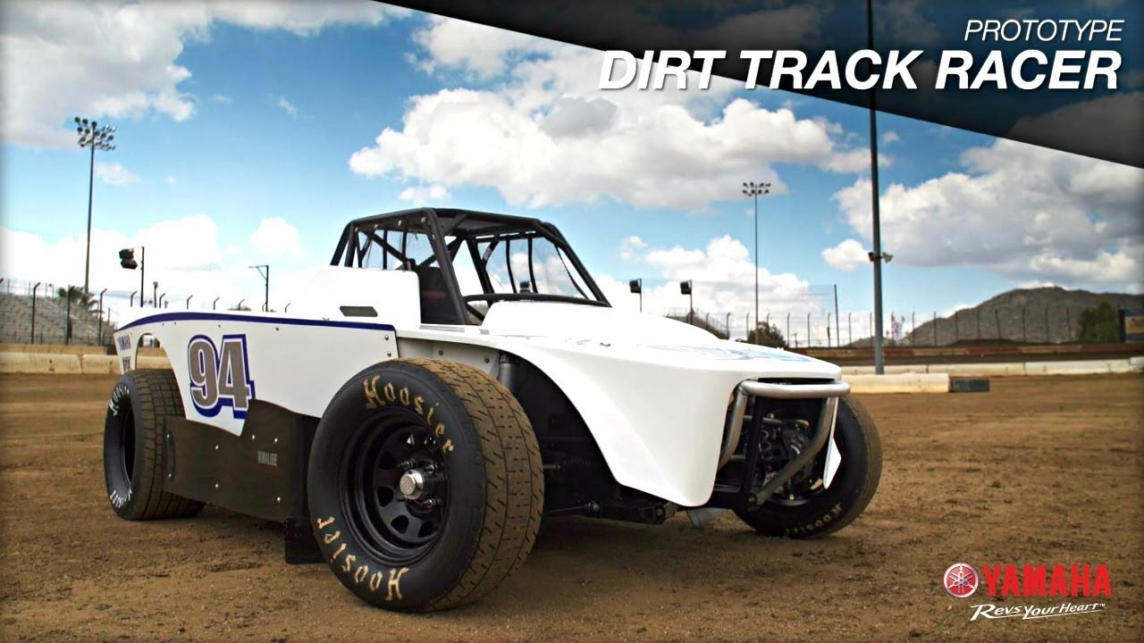 Yamaha R1 Powered Dirt Track Car Prototype
