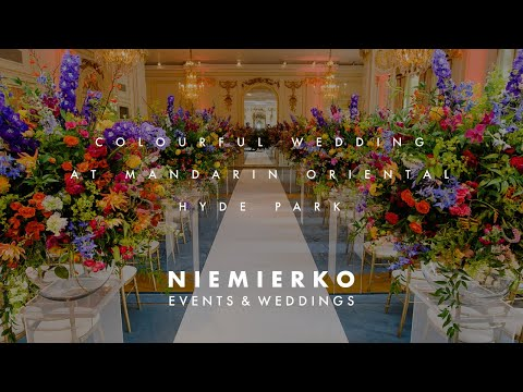 Wedding at Mandarin Oriental, Hyde Park, Made By Niemierko