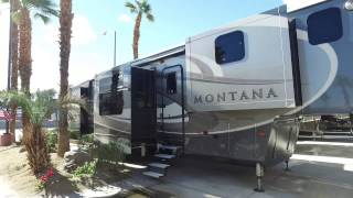 Front Kitchen Fifthwheel Walkthrough Montana 3820FK