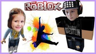 #3 РОБЛОКС ПАРКУР МАСТЕР ИГРАЮ С МЛАДШЕЙ СИСТРЕНКОЙ МИЛАНА | Roblox LetsPlay