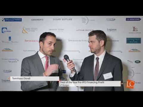 Tommaso Dondi - Financecommunity Awards 2017 by financecommunity.it