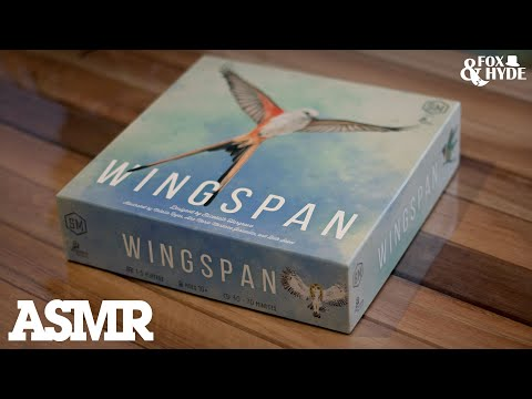 ASMR Board Game Wingspan from Stonemaier Games |