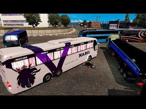 Scania Multi Axle Nabil K410