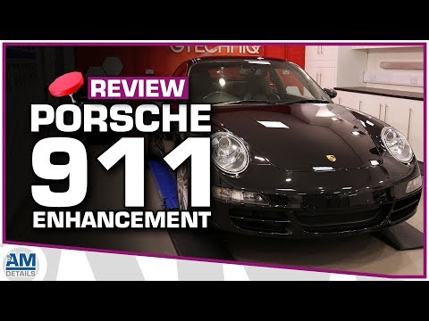 Porsche 911 Carrera 4S - Enhancement Detail Wheelie Stool Review.