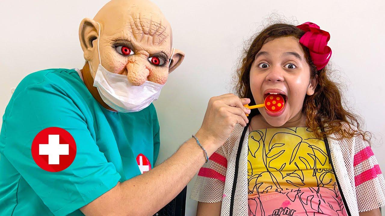 Sarah não deu ouvidos ao médico dentista e aprendeu uma lição importante !!!