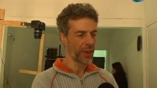 Artista russa ministra oficina de animação em associação de moradores em Tiradentes 03/08/2017