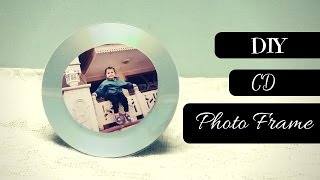✂Art and Craft: DIY Photo Frame! Recycling old CDs! ♥ Best Out Of Waste ♥ Art and crafts ideas | DIY