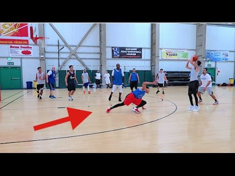 I BROKE HIS ANKLES!! (CRAZY CLOSE BASKETBALL GAME)