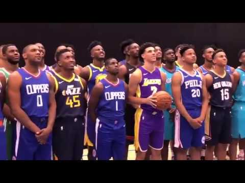 NBA Rookie Photo Shoot in New York 2017 - A Sneak Peek! - YouTube f620f6b1a