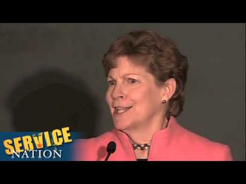 Serve America Act Anniversary - Senator Jeanne Shaheen