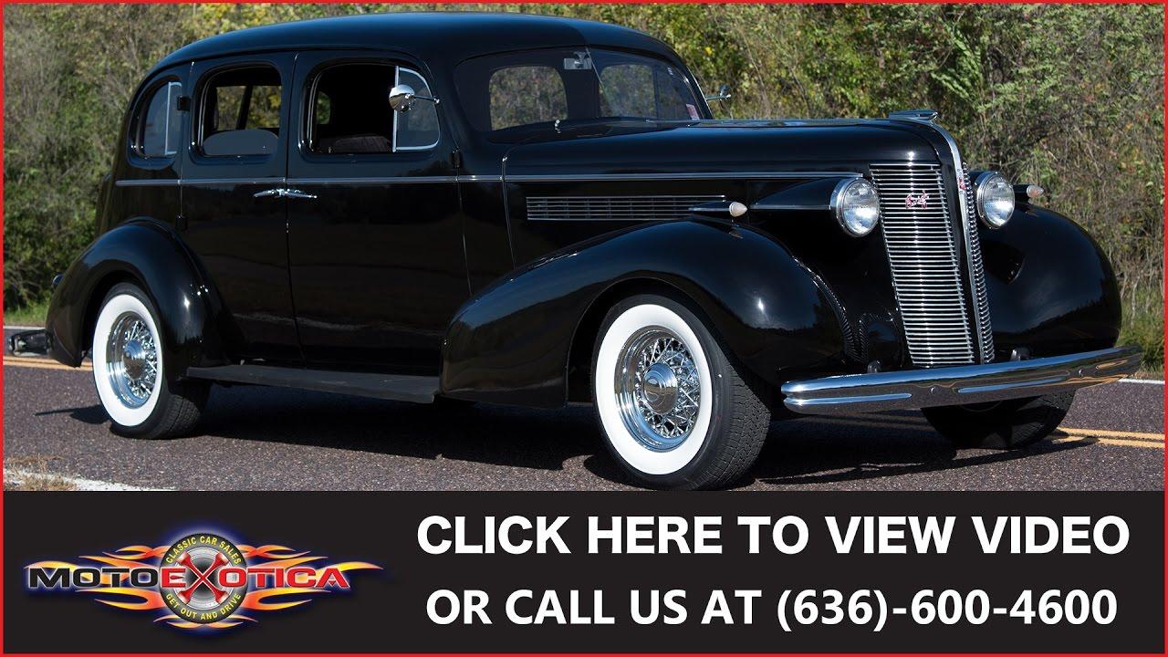 1937 Buick Restomod Sedan (SOLD)