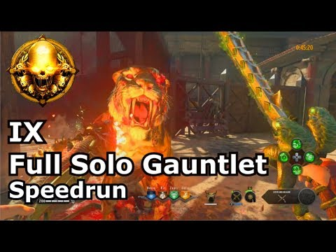Full IX Solo Gauntlet Speedrun Gold PS4