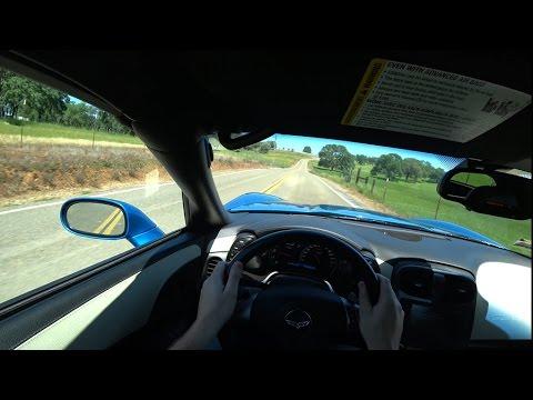 Driving POV - Chevrolet Corvette C6 Base (2008) - Sacramento Area, CA