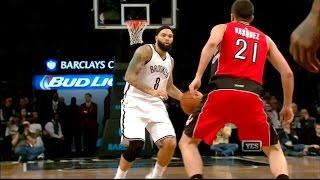 Deron Williams -- 31 Pts 11-18 FG 5-7 3PT, 11 Asts | Nets vs Raptors 4/3/15