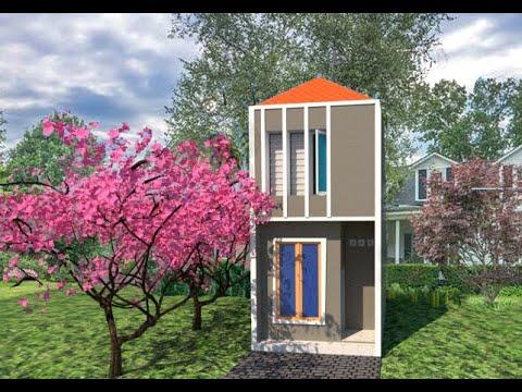 desain rumah minimalis uk. 3,5 x 6,5 2 lantai   mufidh