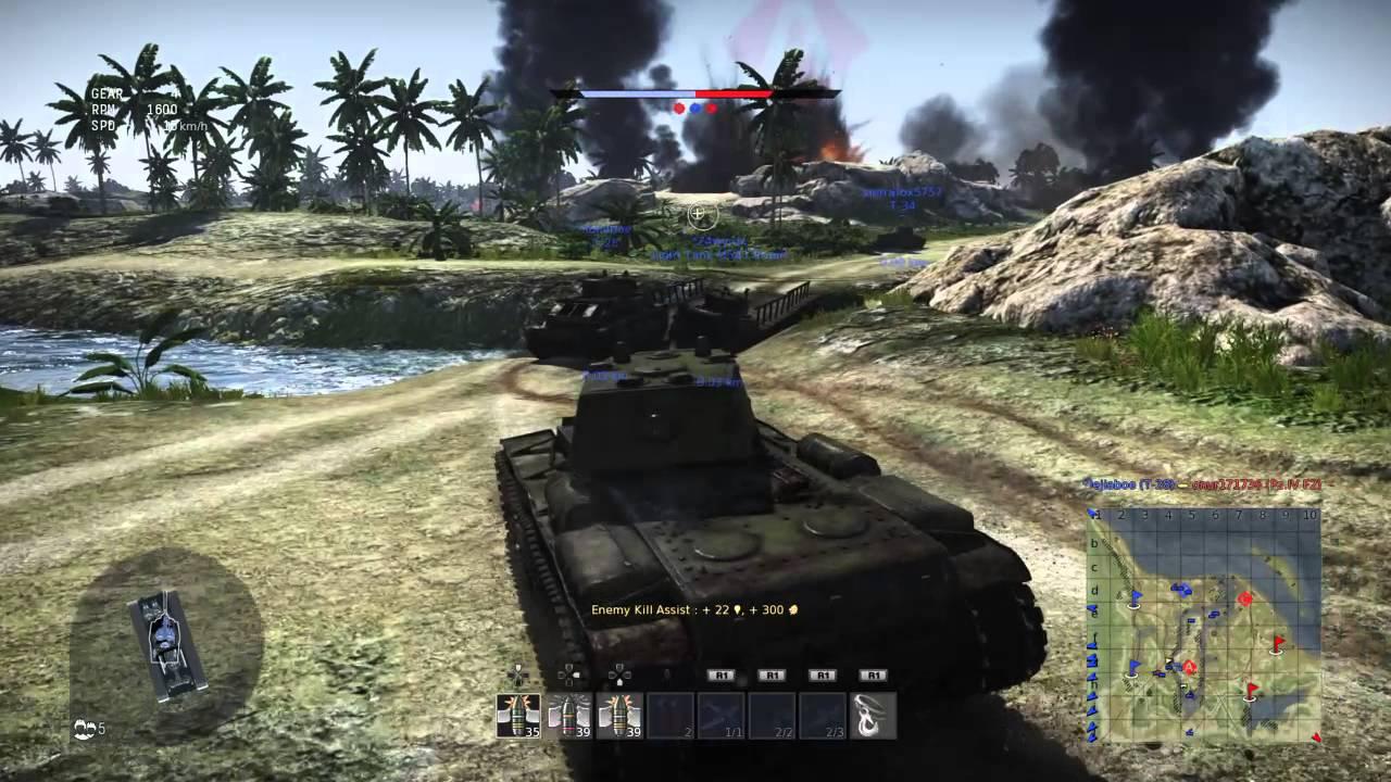 War Thunder gameplay Playstation 4 | PS4 - YouTube