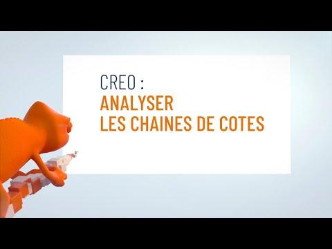 Analyser les chaines de cotes dans Creo