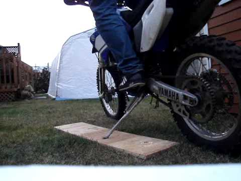 how to start a wr400