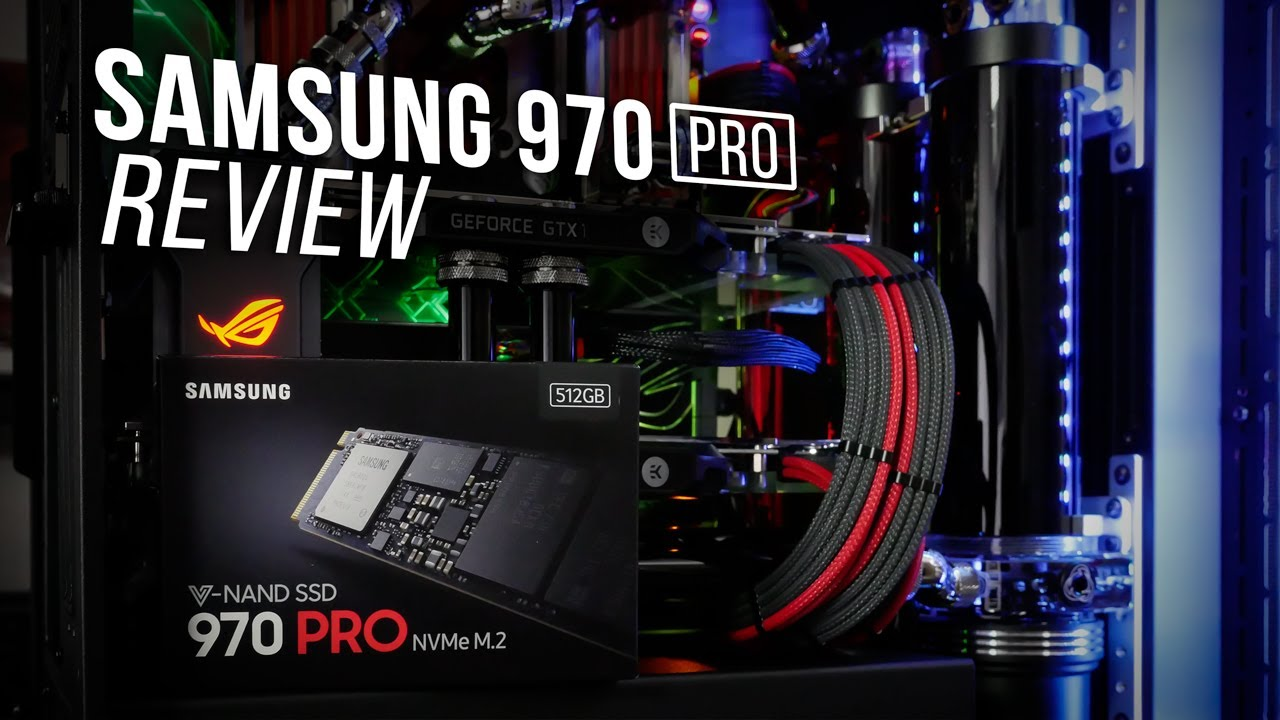 Samsung Ssd 970 Pro 512gb M 2 Review Youtube