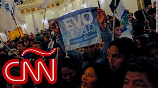 Evo Morales asegura que está en proceso un golpe de Estado en Bolivia