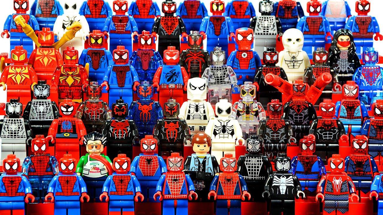 Epic Lego Spider Man 2016 Marvel Super Heroes Minifigure Complete