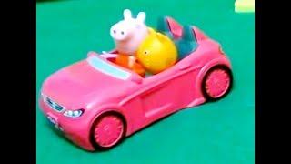 Мультфильм игрушками Свинка Пеппа Свинка Pig Детские машинки