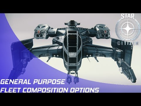 Star Citizen: Fleets - General Purpose Group