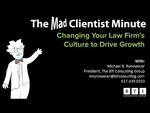 Changing Your Law Firm's Culture to Drive Growth