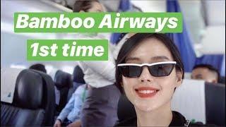 Khánh Linh Travel #1 | Hạng Thương Gia Bamboo Airways Có Thực Sự Tốt? | Back to Saigon