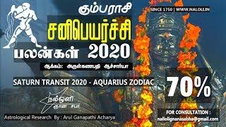 சனி பெயர்ச்சி பலன்கள் 2020- கும்பம் ராசி - அருள்கணபதி ஆச்சார்யா