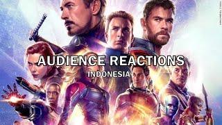 Avengers: Endgame (2019) - Audience Reactions Indonesia [SPOILER ALERT]