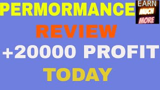 PERFORMANCE REVIEW OF TODAY INTRADAY STOCKS  +20000 profit today