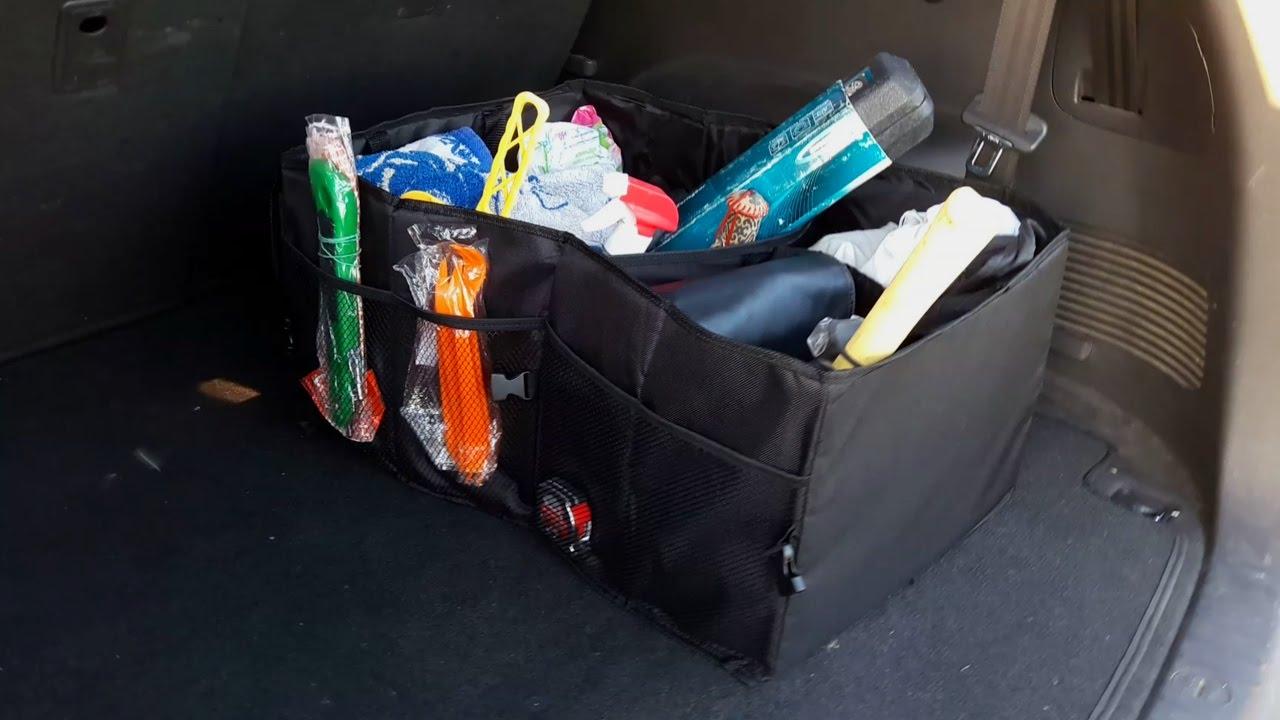 a5bfe1625cbf СУМКА-ОРГАНАЙЗЕР в багажник автомобиля №2 с АЛИЭКСПРЕСС - YouTube