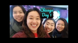 VLOGS | Chicago Day 1 #vlog #chicago #travel