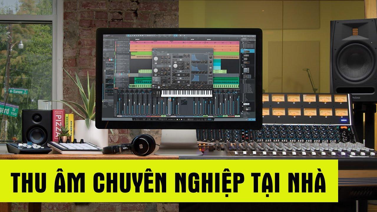 PRESONUS STUDIO ONE: Phần mềm thu âm chuyên nghiệp